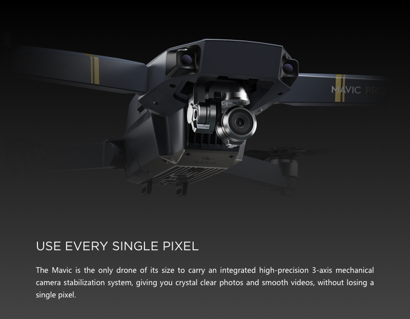 Mavic Pro Fly More Combo - 4K Stabilized Camera 24