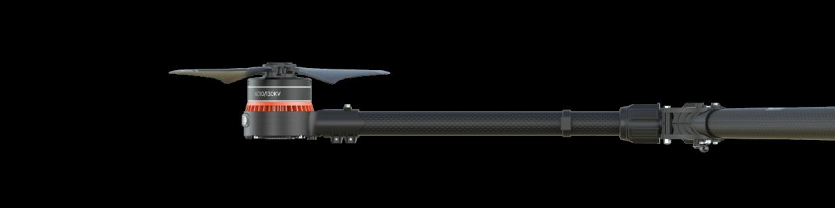 DJI Agras MG-1S Craft W/ built in RTK With Sprayer 7