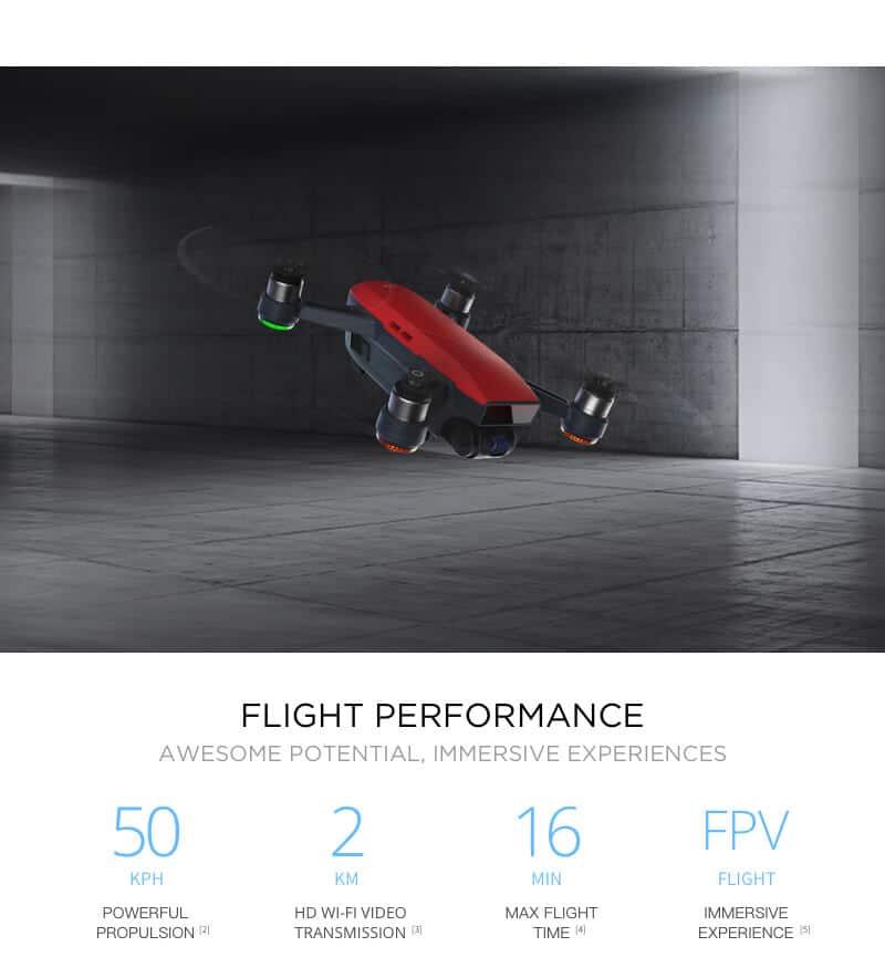 DJI Spark Mini Quadcopter Drone - Meadow Green - 1080P Video 12MP Photos 28
