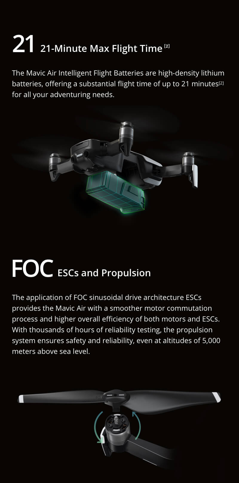 Mavic Air - Ultraportable 4K Quadcopter - Fly More Combo - Flame Red 24