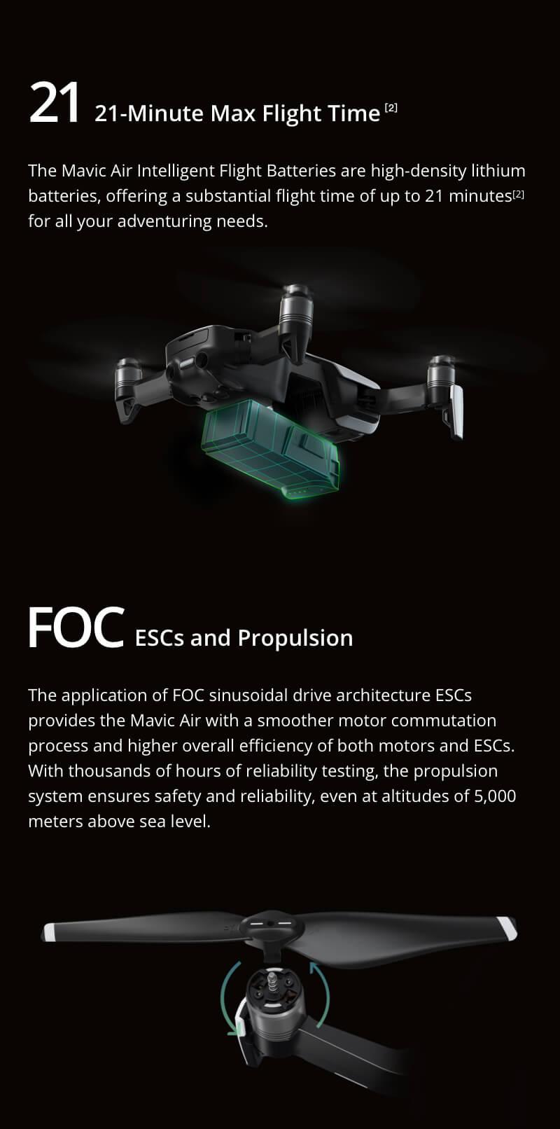 Mavic Air - Ultraportable 4K Quadcopter - Arctic White 25