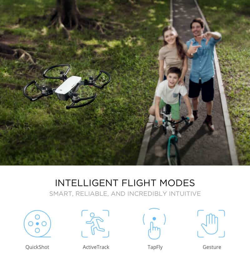 DJI Spark Mini Quadcopter Drone - Meadow Green - 1080P Video 12MP Photos 19