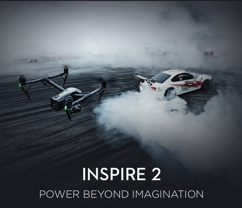 Inspire 2 Aircraft Only (Part 40) (No Remote, No Charger) 1