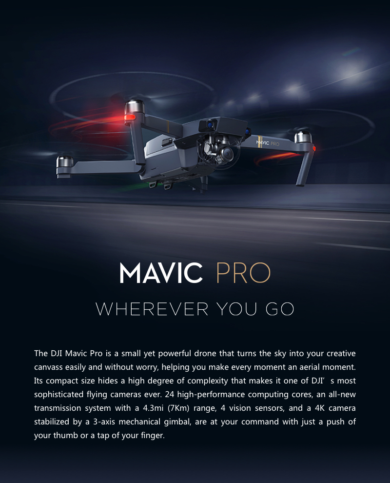 Mavic Pro Fly More Combo - 4K Stabilized Camera 19