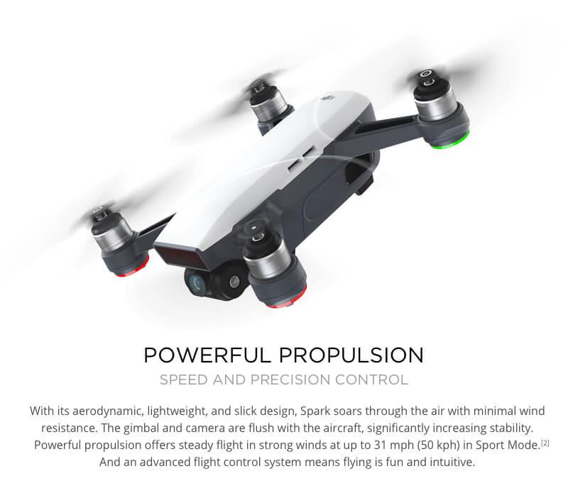 DJI Spark Mini Quadcopter Drone - Meadow Green - 1080P Video 12MP Photos 29