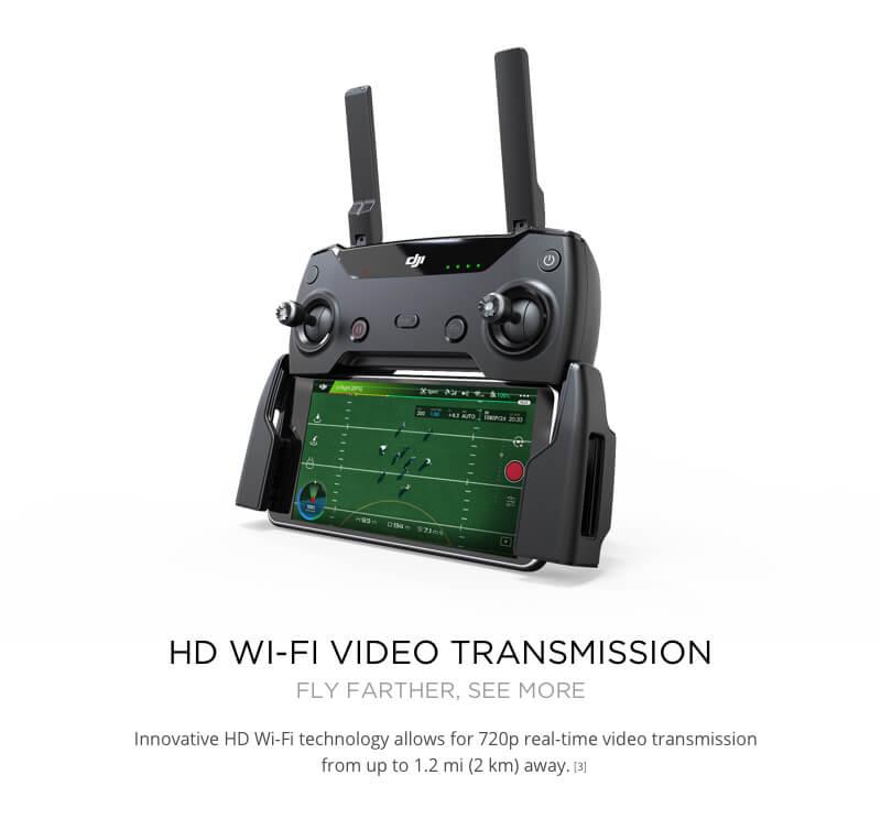 DJI Spark Mini Quadcopter Drone - Meadow Green - 1080P Video 12MP Photos 30