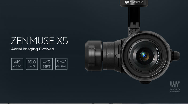 Zenmuse X5 Gimbal and Camera for Inspire 1(Lens Excluded) 6