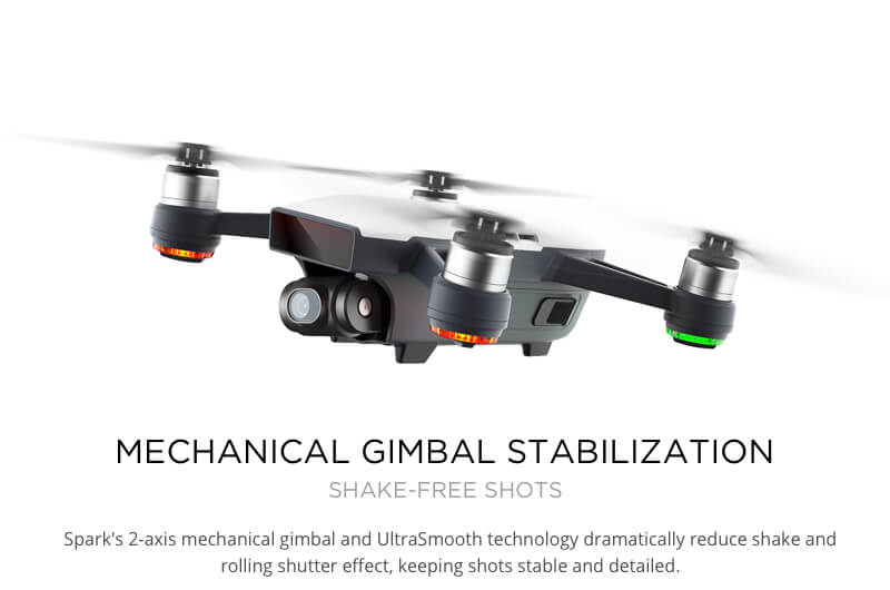 DJI Spark Mini Quadcopter Drone - Meadow Green - 1080P Video 12MP Photos 24