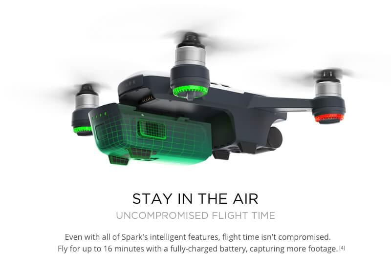DJI Spark Mini Quadcopter Drone - Meadow Green - 1080P Video 12MP Photos 31