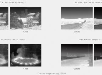 FLIR Zenmuse XT 336x256 9Hz 19mm Lens - Radiometric 13