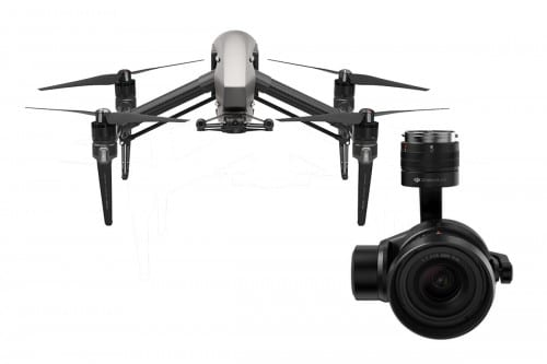 Inspire 2 With Zenmuse X5S Camera Bundle (No ProRes/CinemaDNG) 3