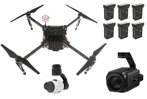 Matrice 100 Custom Remote Inspection & Surveillance Drone Package - Ready To Fly 3