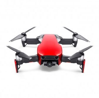 Mavic Air - Ultraportable 4K Quadcopter - Fly More Combo - Flame Red 13