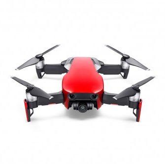 dji mavic air ultraportable k quadcopter flame red cp pt   dji ea