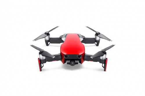 Mavic Air - Ultraportable 4K Quadcopter - Fly More Combo - Flame Red 8