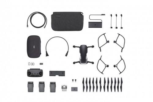 dji mavic air ultraportable k quadcopter fly more combo onyx black cp pt   dji