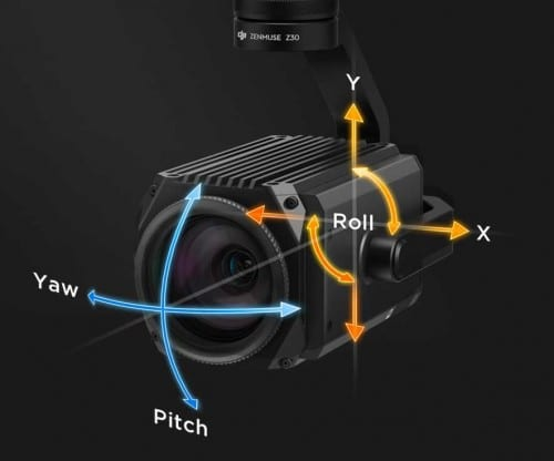Zenmuse Z30 - 30x Optical Zoom Camera/Gimbal 4