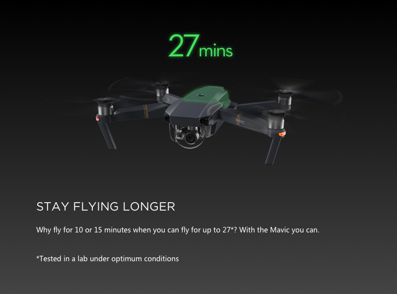 Mavic Pro Fly More Combo - 4K Stabilized Camera 23