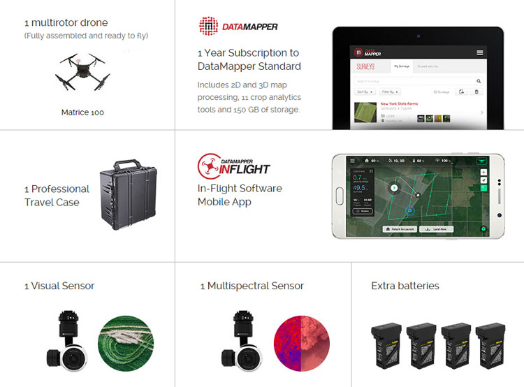 Matrice 100 Smarter Farming Kit - Powered by PrecisionHawk 8