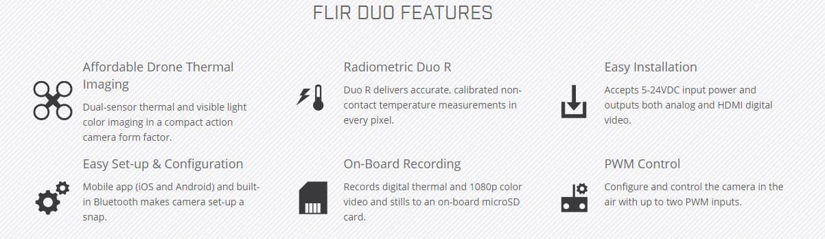 FLIR Duo Thermal Camera 4