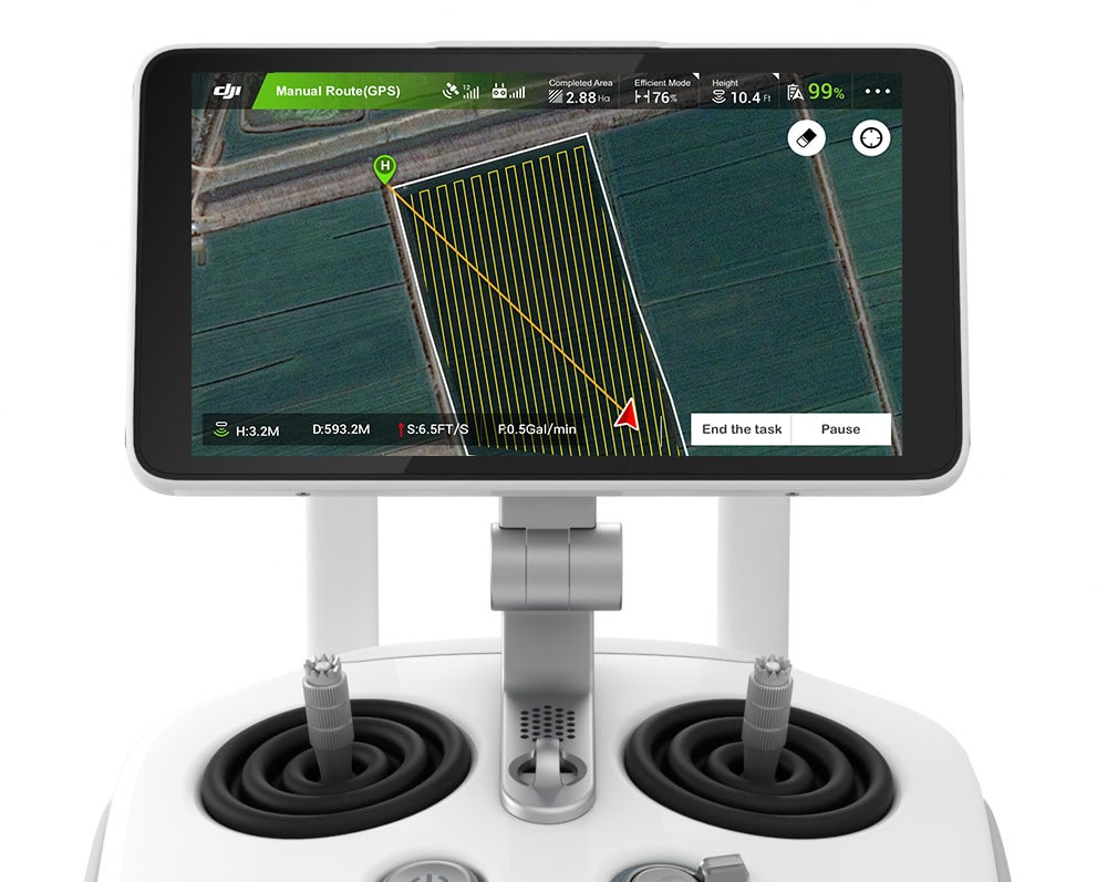 DJI Agras MG-1S Craft W/ built in RTK With Sprayer 12
