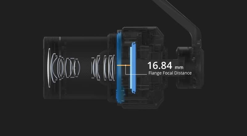 Zenmuse X7 Cinematic Gimbal Camera (Lens Excluded) 9