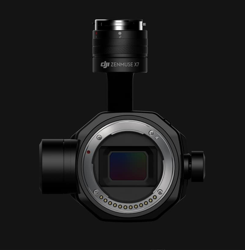 Zenmuse X7 Cinematic Gimbal Camera (Lens Excluded) 8