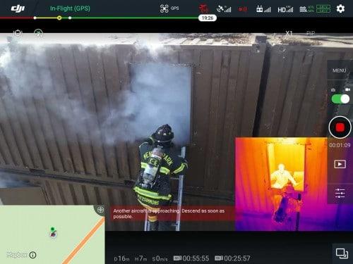 FLIR Zenmuse XT2 Thermal Camera - 336x256 30Hz 13mm 9