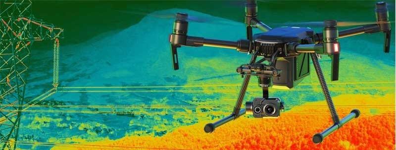 FLIR Zenmuse XT2 Thermal Camera - 336x256 30Hz 13mm 16