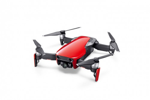 dji mavic air ultraportable k quadcopter flame red cp pt   dji eb
