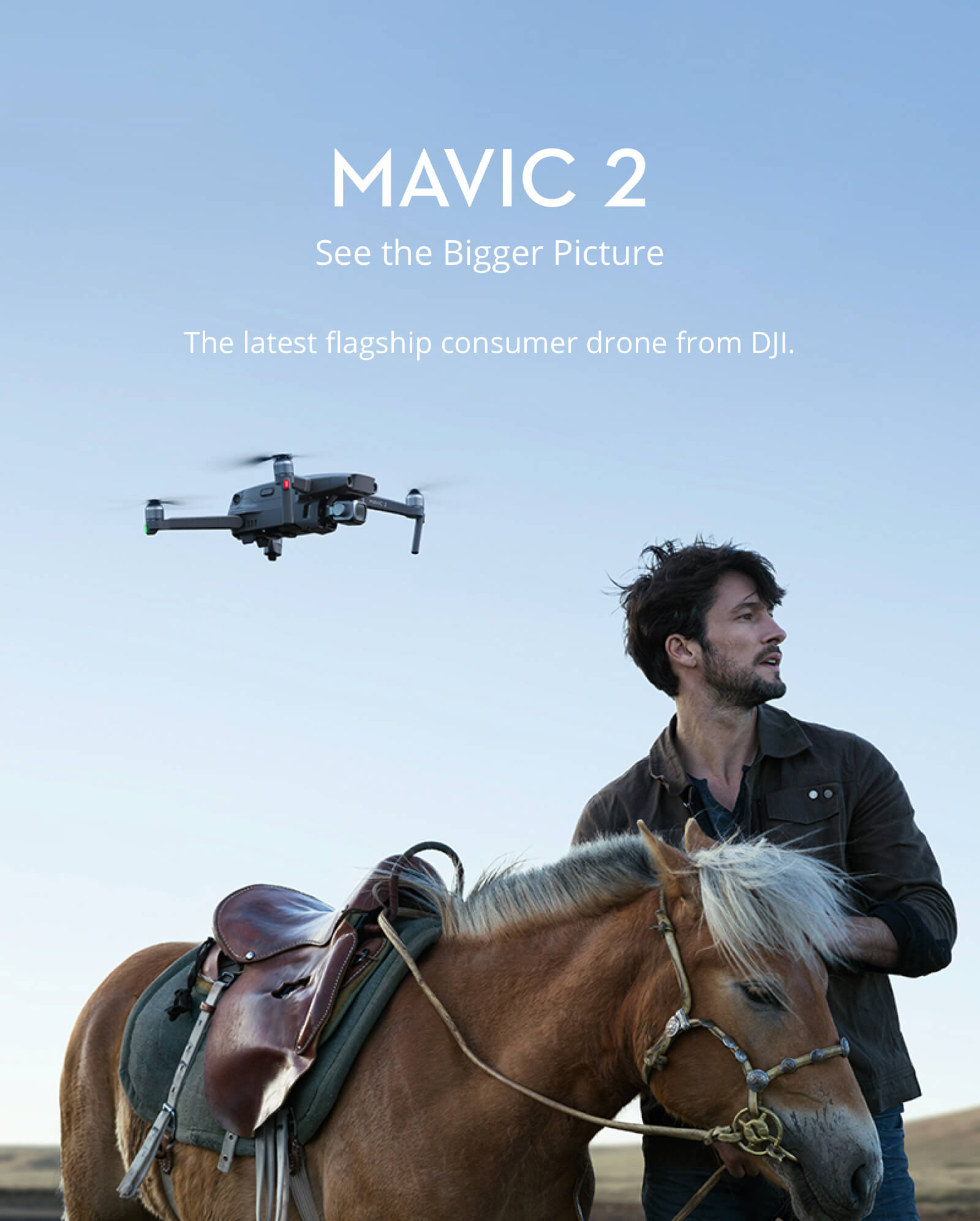 Mavic 2 Zoom Quadcopter - 12MP, 2x Optical Zoom 12