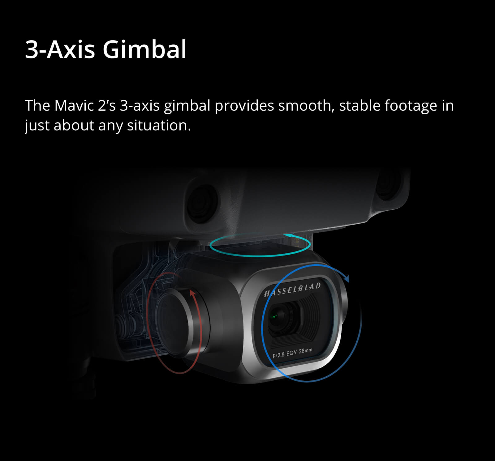 Mavic 2 Pro Quadcopter w/ 20MP Hasselblad Camera with Smart Controller 8