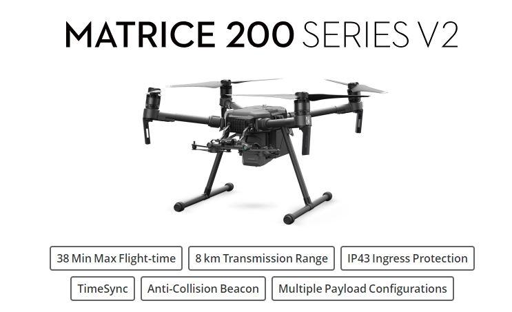 DJI Matrice 200 V2 Enterprise Quadcopter 9