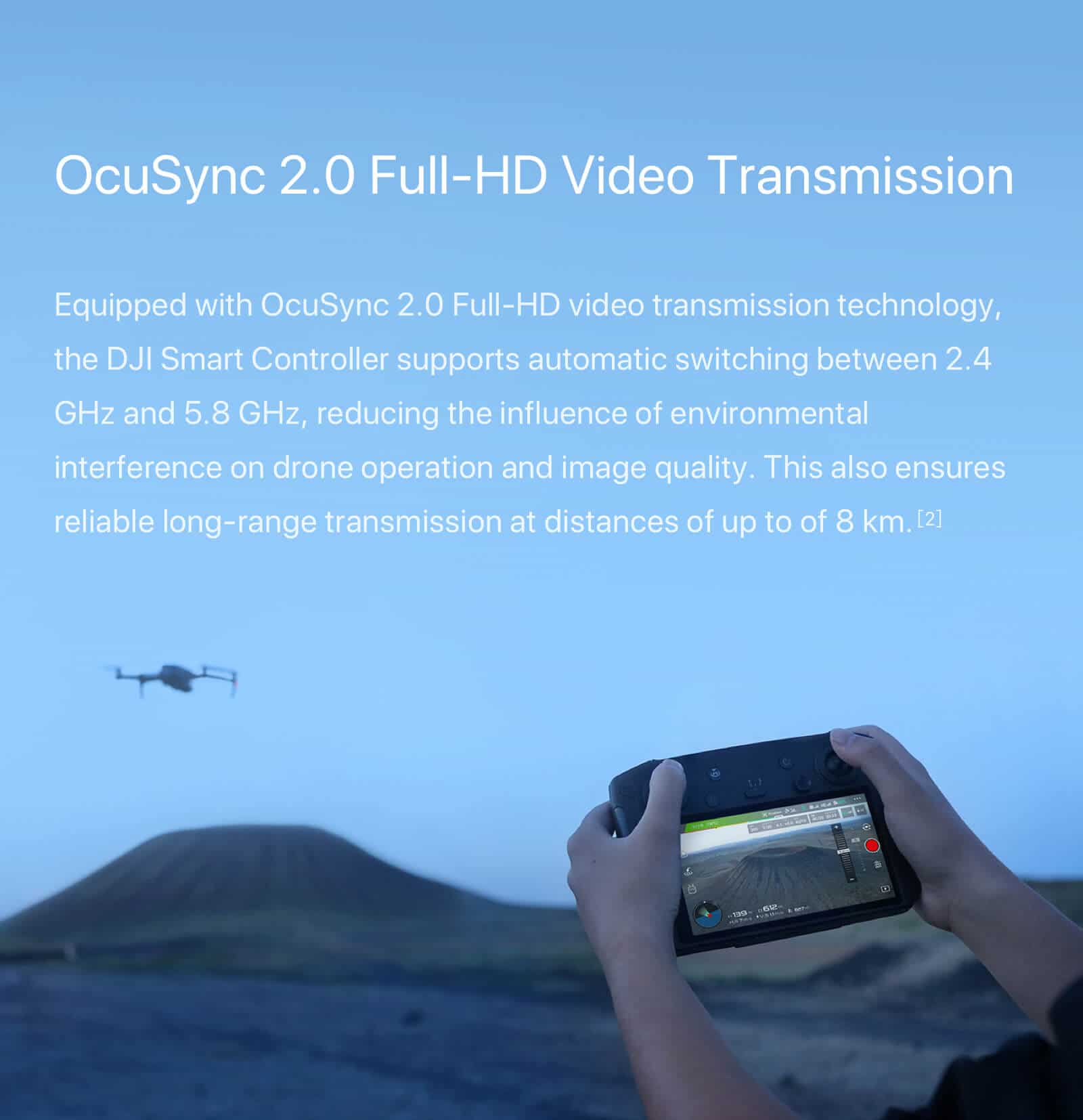 "DJI Smart Controller with 5.5"" 1080p Screen 5"