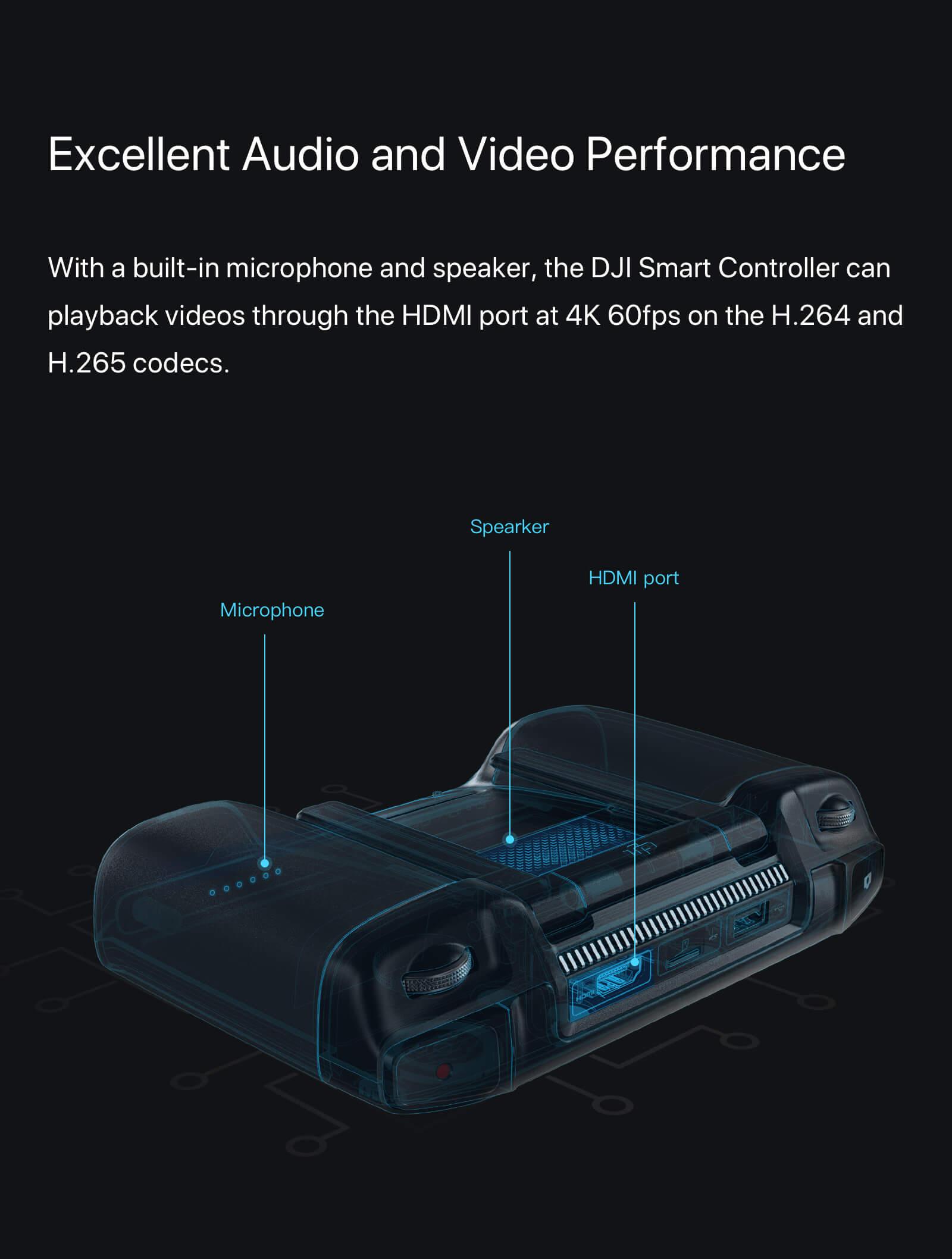 "DJI Smart Controller with 5.5"" 1080p Screen 10"