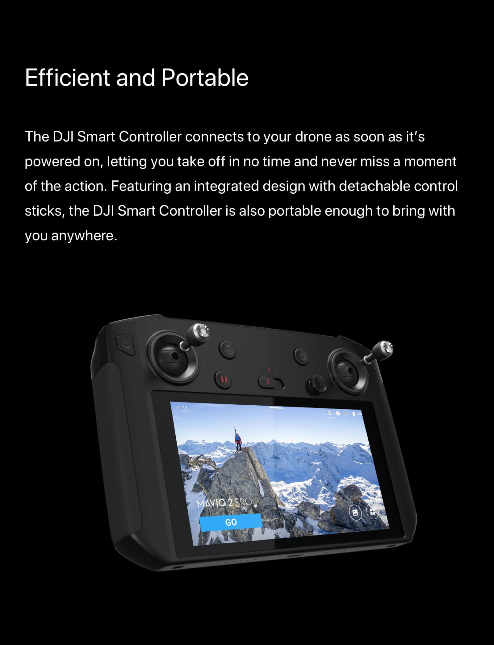 "DJI Smart Controller with 5.5"" 1080p Screen 3"