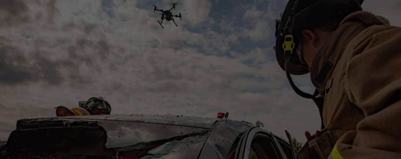 dji drone map