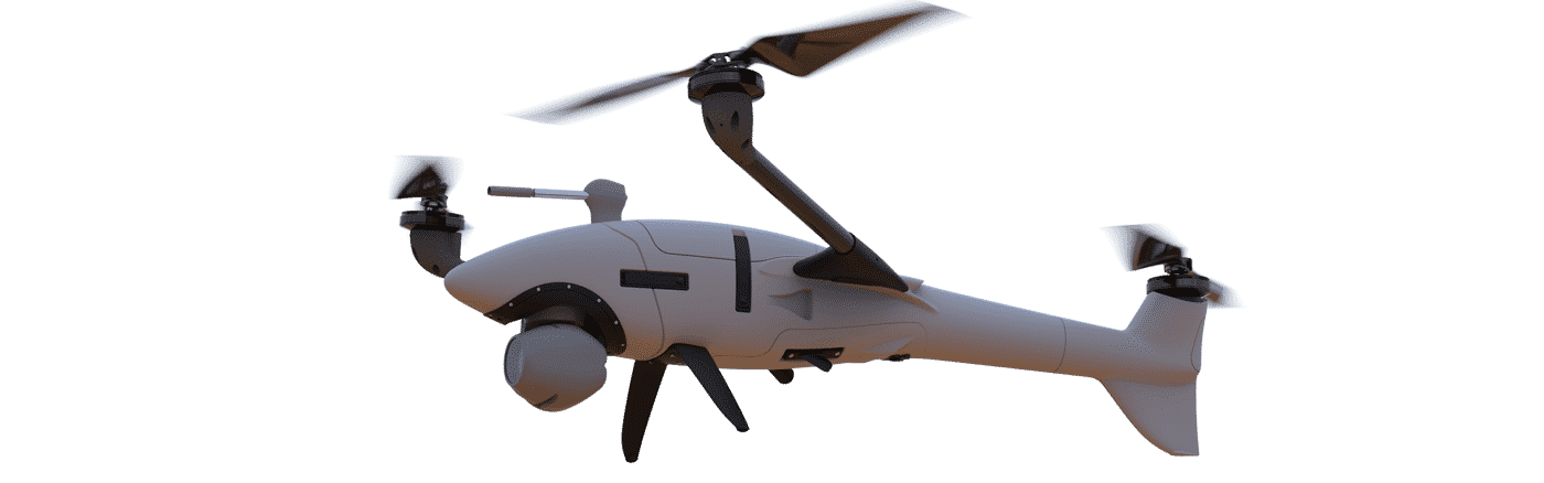 Scorpion - The 2in1 Vertical Take-off Reconnaissance UA 6